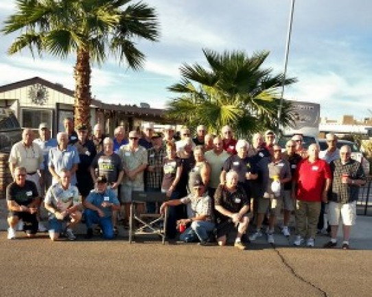 Old Cops Pot Luck in Yuma, AZ